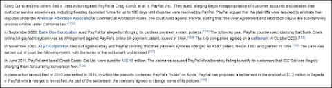 Paypal Won't Pay, And They're Not An Author's Pal [Paypal #1]