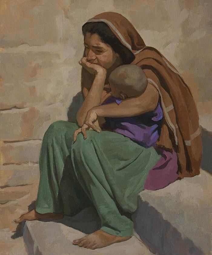 Нидерландский художник. Neale Worley