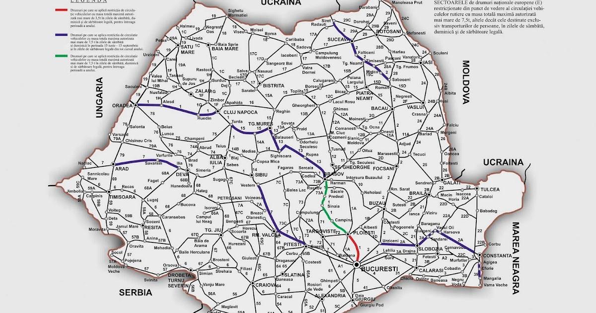 Totul Despre Geografia Romaniei Transporturile Romaniei