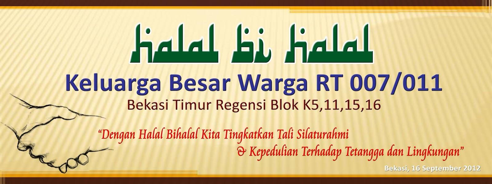 5 Contoh Banner Halal Bihalal yang Menarik - Contoh Banner