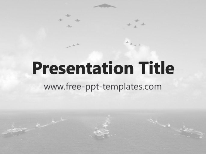 Navy PPT Template