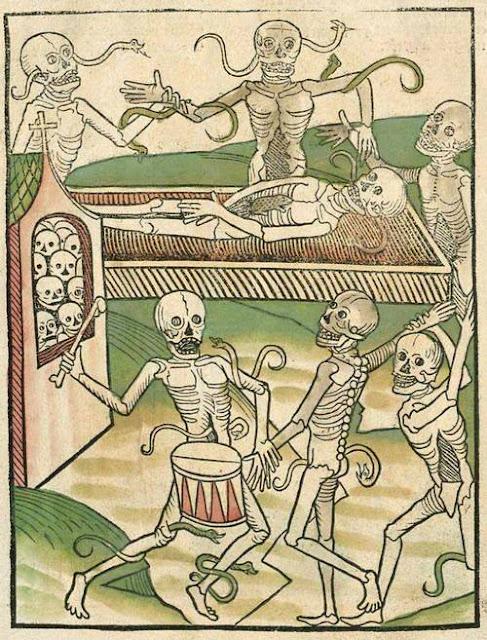 Heidelberger Totentanz (autore sconosciuto, stampato da Heinrich Knoblochtzer in 1488)