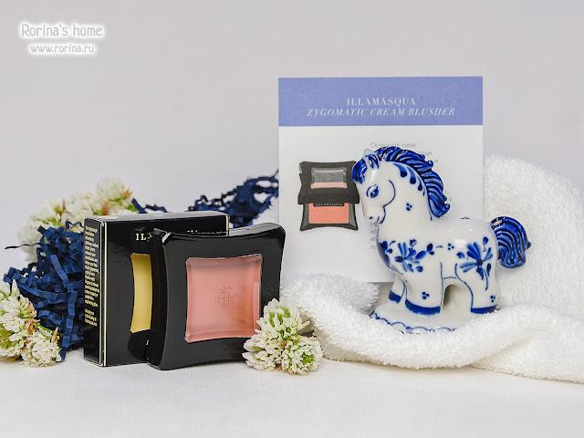 Кремовые румяна Illamasqua Zygomatic Cream Blusher отзывы