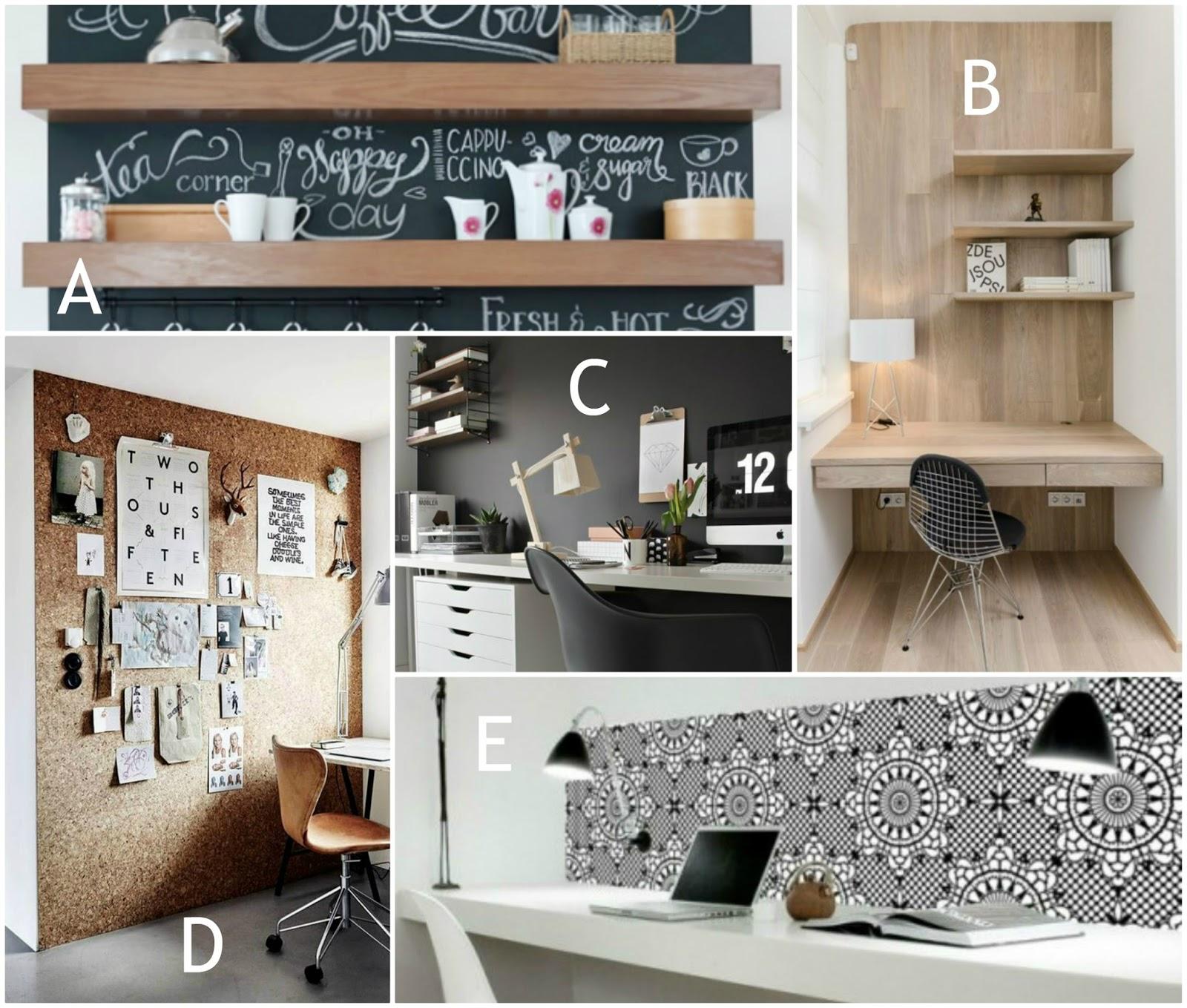kitchen home office interior design