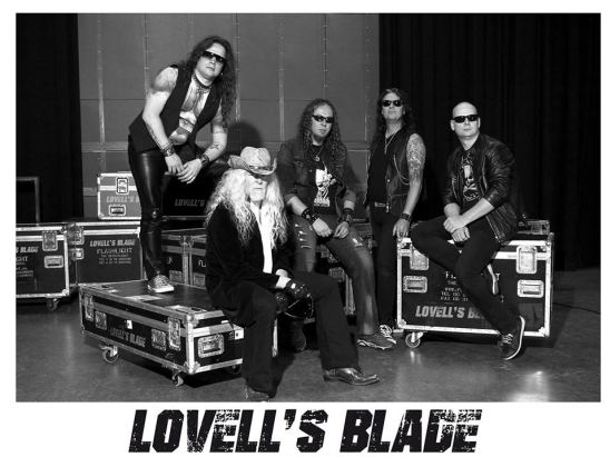 LOVELL'S BLADE - Stone Cold Steel (2017) inside