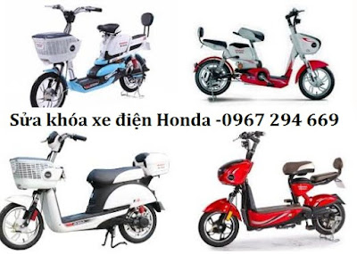 Dịch vụ chuyên sửa khóa xe điện hãng Honda