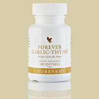 Хранителна добавка с чесън и мащерка /Forever Garlic-Thyme/