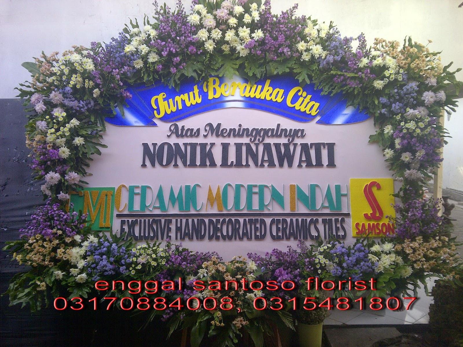 bunga papan duka cita toko bunga surabaya murah dan online