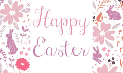Happy Easter tag, Free Printable - Anabelia Craft Design