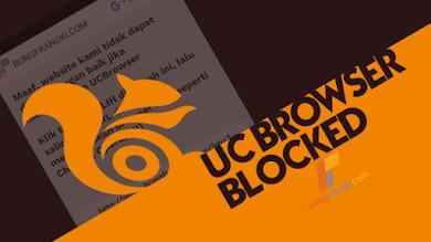 Agar Blog Tidak Bisa dibuka dengan UC Browser