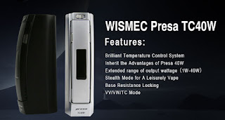 Features of Wismec Presa TC40W you should know