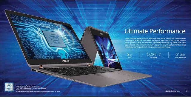 Processor Intel Core i7 ASUS ZenBook Flip UX360UA