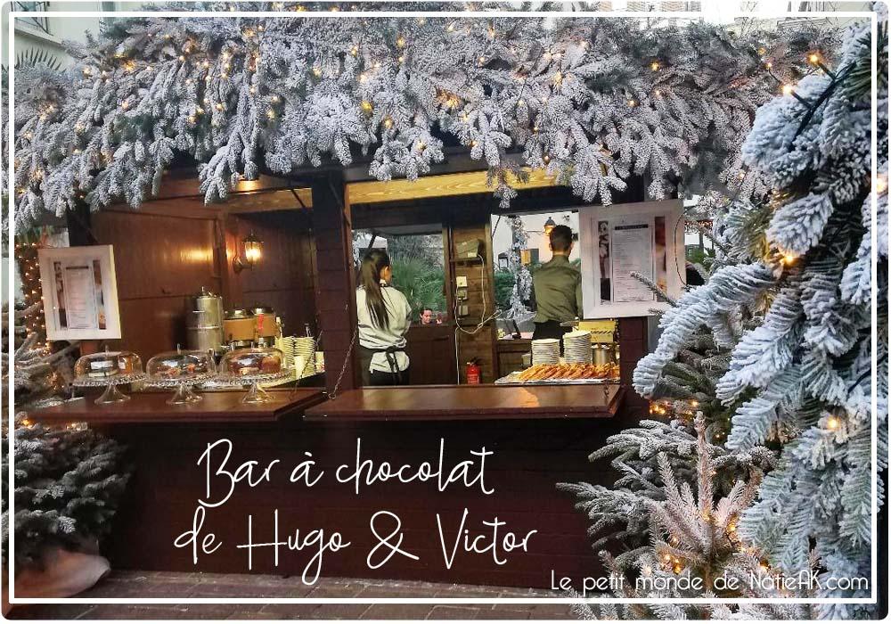 Bar à chocolat de Hugo & Victor au Jardin du Marais