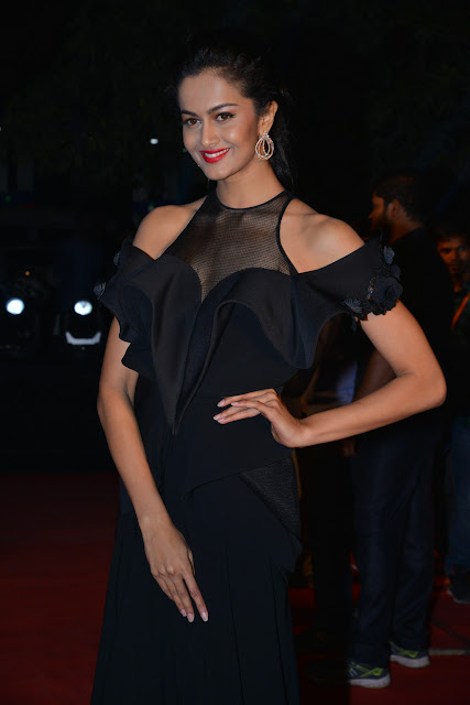 Shubra Aiyappa Latest Images in GeminiTV Awards 2016