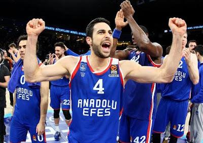 Doğuş Balbay Euroleague üç sayı lideri