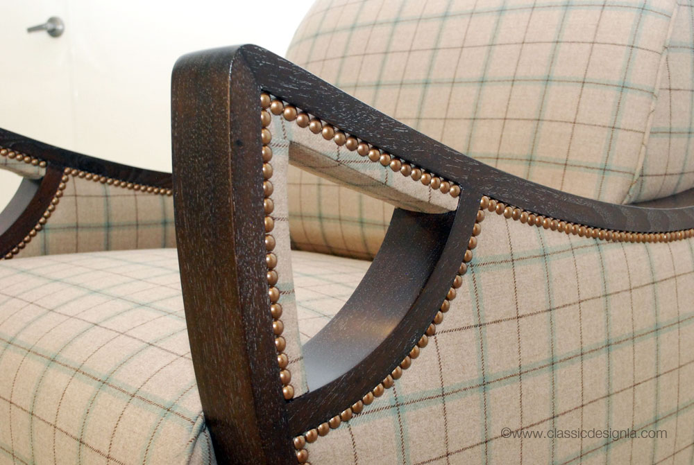 classic design: Custom Vintage-inspired Chair
