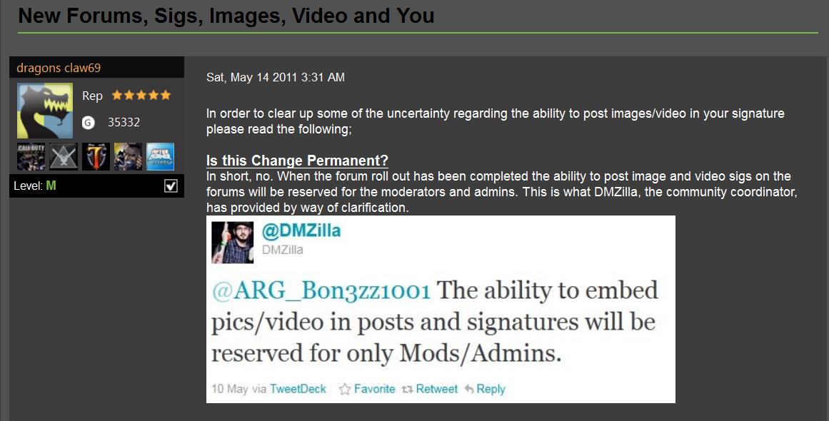 Xbox Forum Fail Blog: May 2011