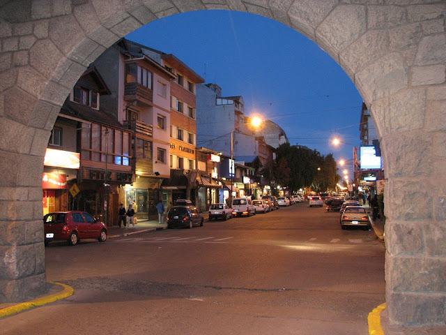 Rua Mitre em Bariloche