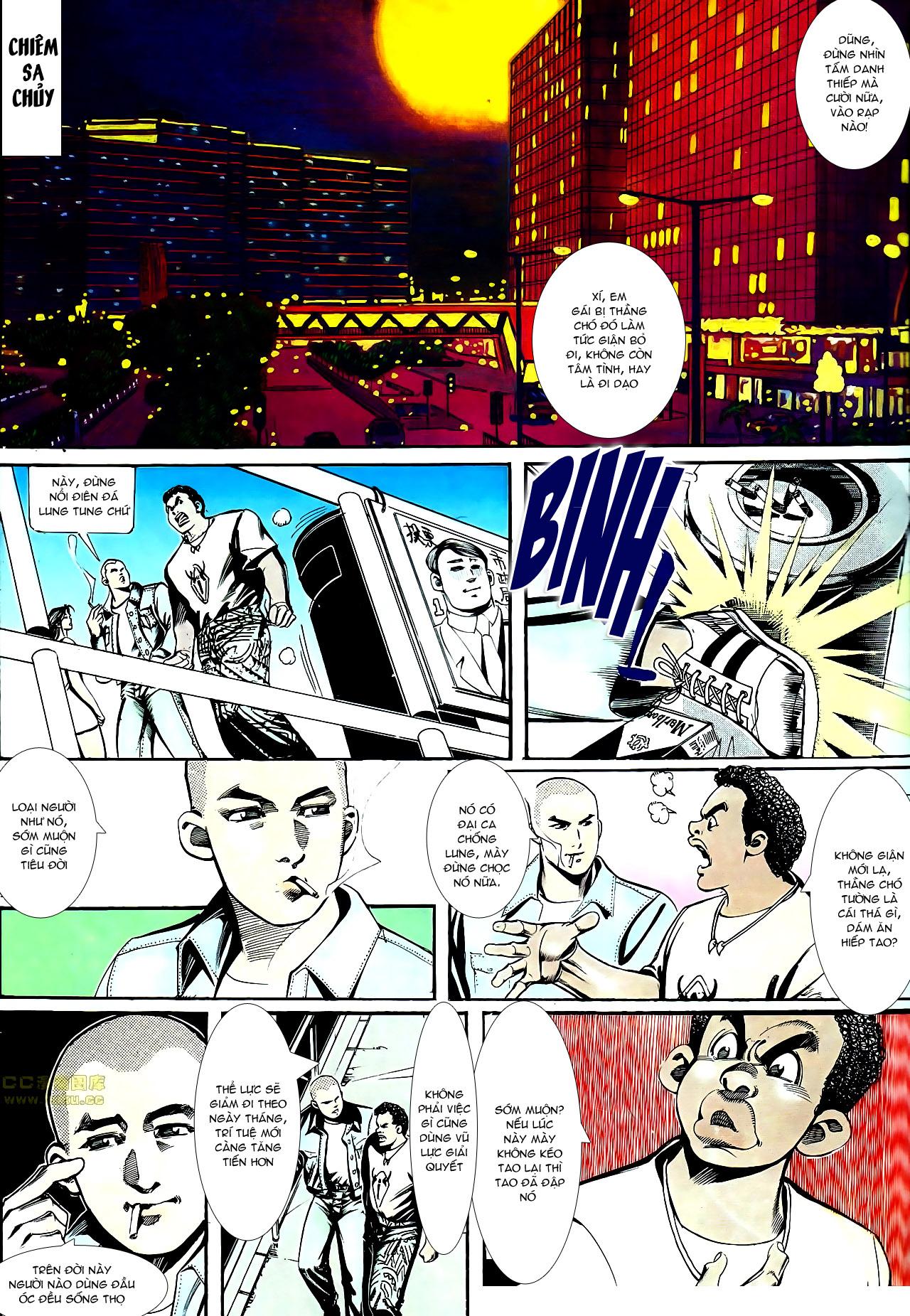Người Trong Giang Hồ chapter 152: trăng sáng chiêm đông trang 11