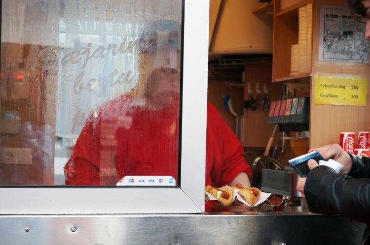 Baejarins Beztu Pylsur hot dog stand, Reykjavik, Iceland, Euriental