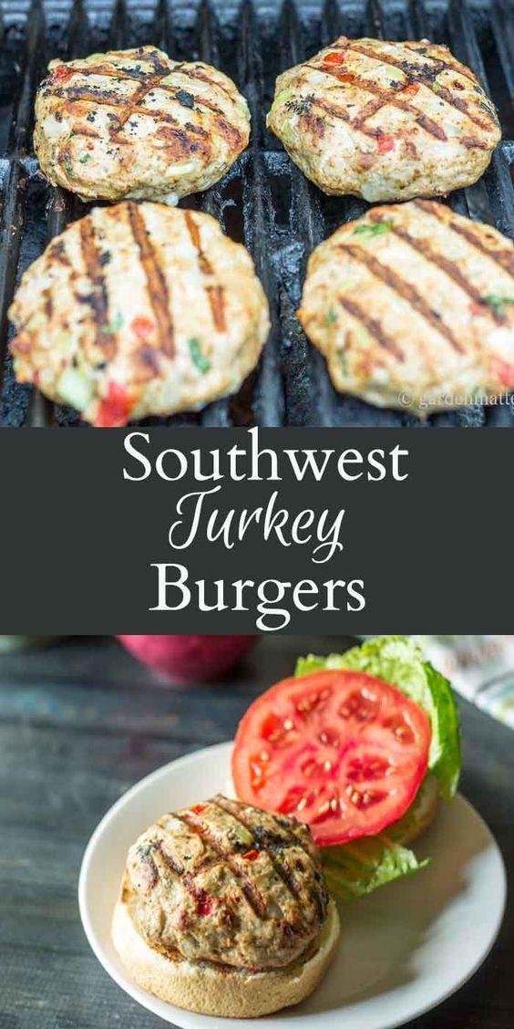 Southwest Turkey Burgers Recipes