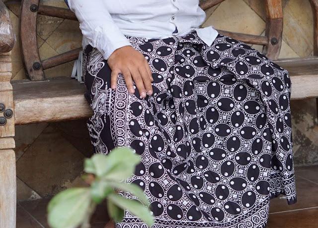 Sarung Batik Aljuwani motif Kawung