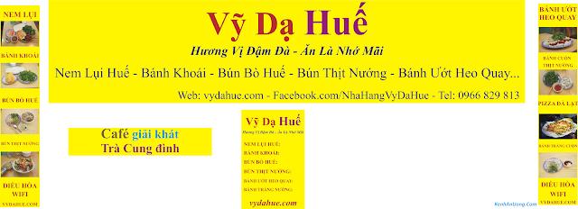 Quán Vỹ Dạ Huế - 438 Đội Cấn - Ba Đình - Hà Nội