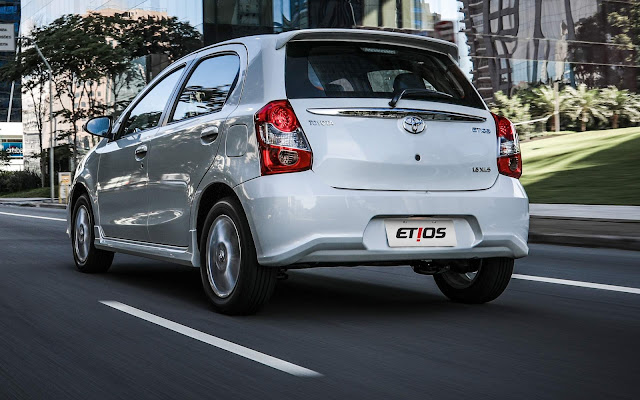 Toyota Etios 2018 Hatch - Preço