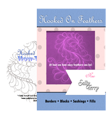 How to Free Motion Hooked on Feathers DVD Tutorial by Sally Terry Professional Machine Quilting and Classes