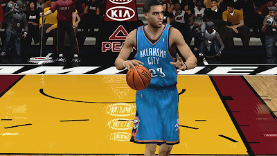 NBA 2K13 Kevin Martin K-Mart Face NBA2K Update