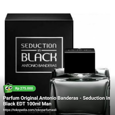 toko parfum asli parfum original antonio banderas seduction in black edt 100ml man