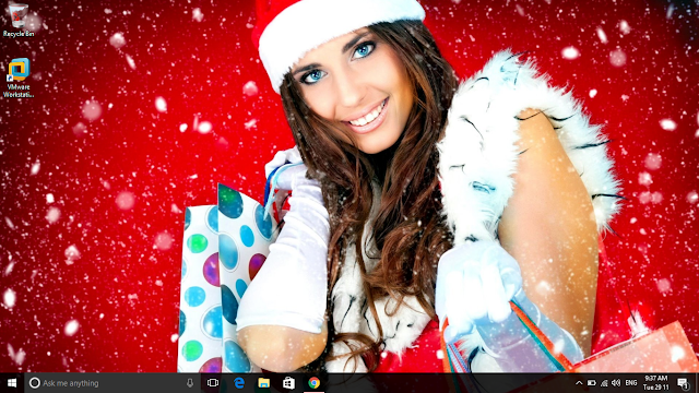 Christmas Theme 2016 cho Windows 10