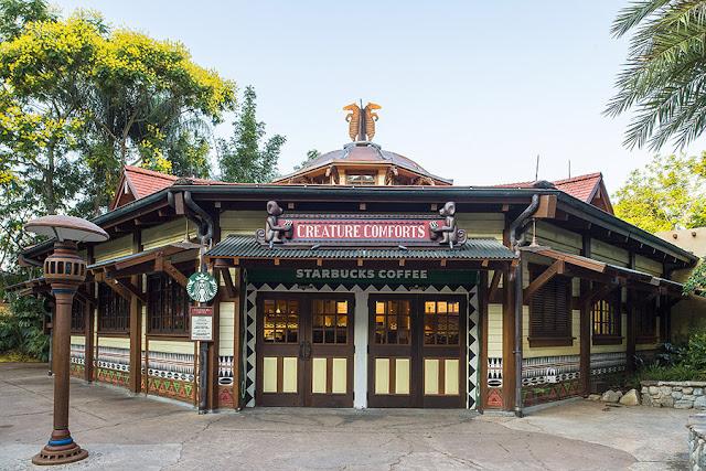 Starbucks no parque Animal Kingdom da Disney