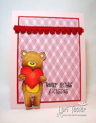 Bear Hugs and Kisses-designed by Lori Tecler-Inking Aloud-stamps from The Cat's Pajamas