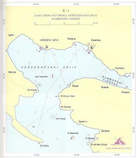 Sidrišta u hercegnovskom zalivu i kumborskom tjesnacu
