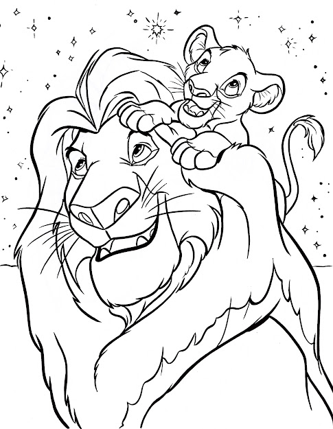 Free Printable Coloring Pictures Of Disney Characters