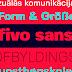 Fivo Sans, una tipografía gratuita inspirada en el Swiss Style