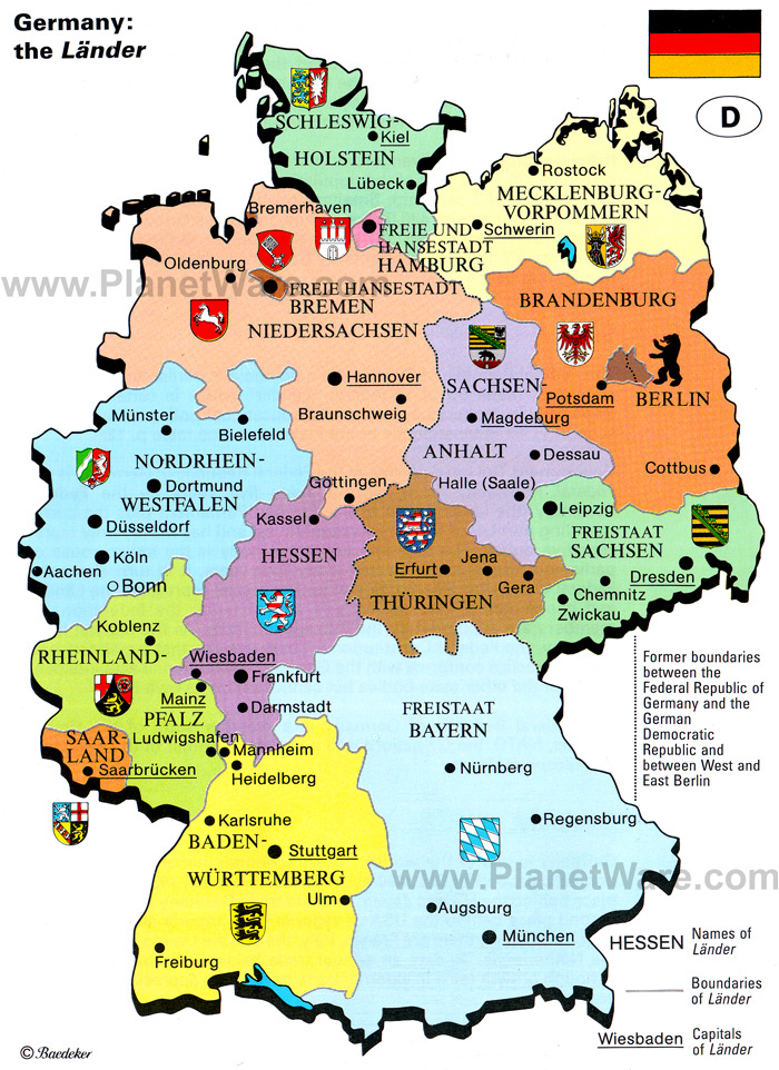Mapas da Alemanha