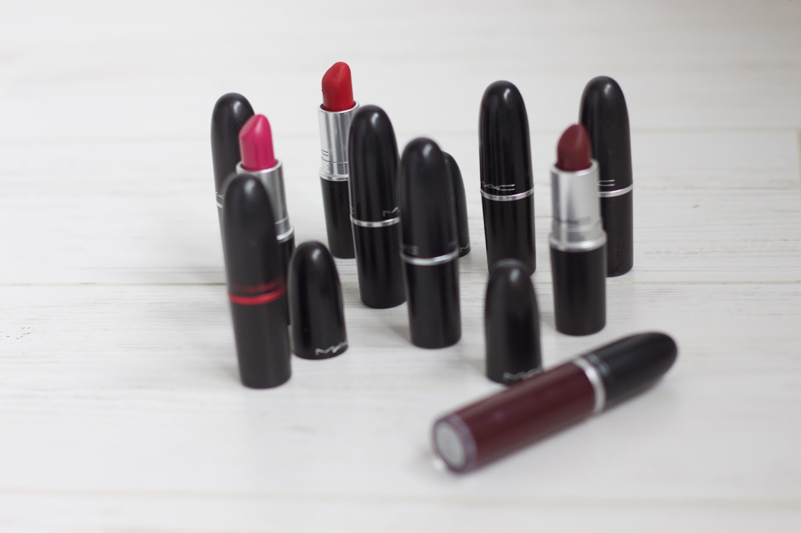 MAC Lipstick Collection | 2016