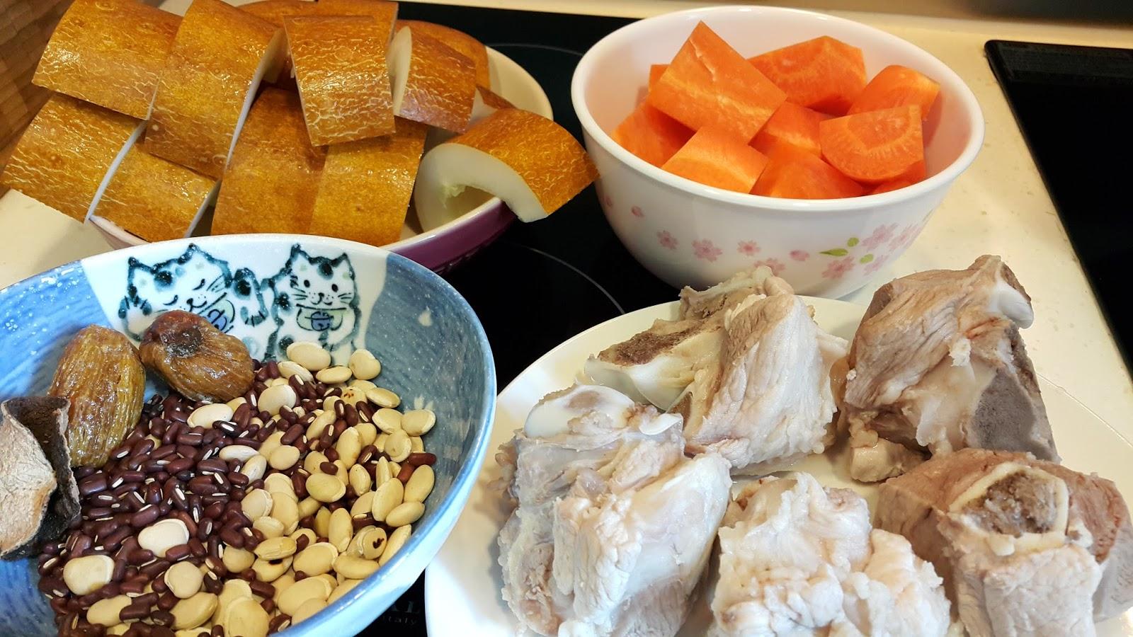安妃之食譜: 老黃瓜赤小豆扁豆湯