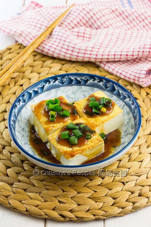 Pan-Fried Tofu in Teriyaki Sauce03