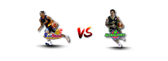 May 20: Rain or Shine vs GlobalPort, 4:30pm Smart Araneta Coliseum