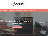 Saara Fashion Premium Version Blogger Teması