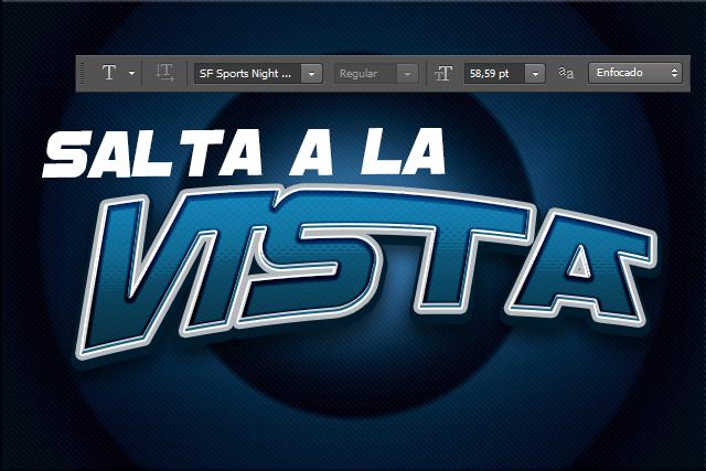 Tutorial de Photoshop Efecto de Texto Deportivo by Saltaalavista Blog 32