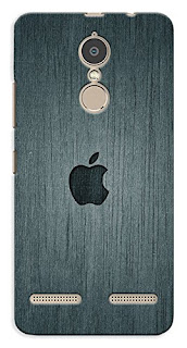 Printed Apple Logo Lenovo K6 Power Back Cover