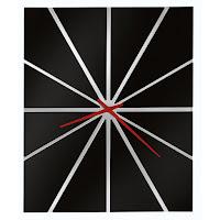 Howard Miller Oversized Modern Wall Clock 625-617 Zander II