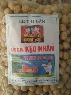 Sản phẩm kẹo nhãn Lê Thị Dần
