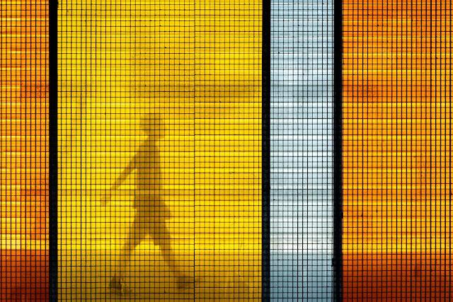 'Paseo al atardecer' por Carlos Larios