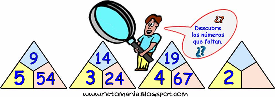 Descubre el Número, Piensa Rápido, Sólo para Genios, El número que falta, Desafíos matemáticos, Retos matemáticos, Problemas matemáticos, Problemas para pensar, Problemas con solución