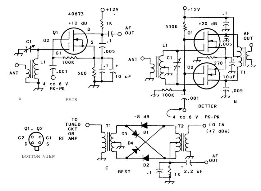 radio theory and design dual gate mosfetsdual gate mosfets